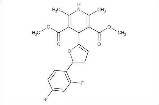 Dimethyl 4-(5-(4-bromo-2-fluorophenyl)furan-2-yl)-2,6-dimethyl-1,4-dihydropyridine-3,5-dicarboxylate
