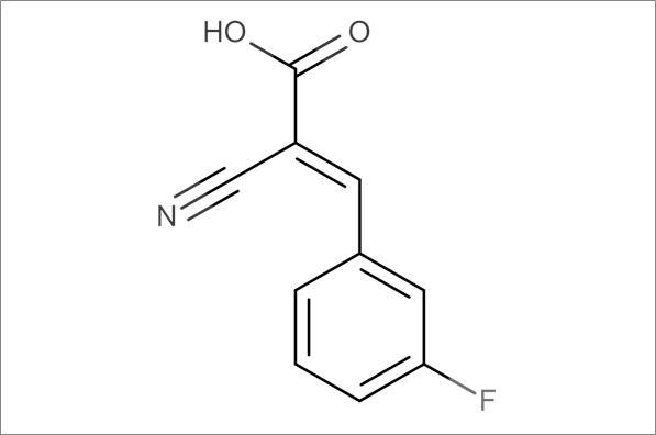 (E)-2-Cyano-3-(3-fluorophenyl)acrylic acid
