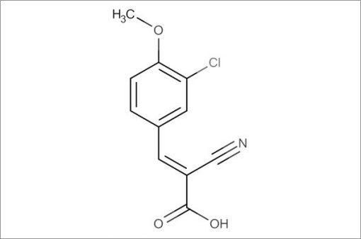 (E)-3-(3-Chloro-4-methoxyphenyl)-2-cyanoacrylic acid