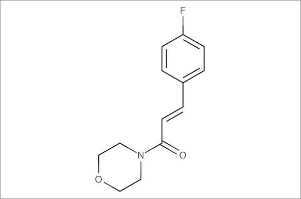 (E)-3-(4-Fluorophenyl)-1-morpholinoprop-2-en-1-one
