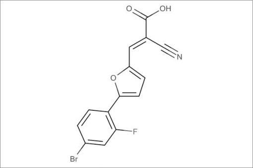 (E)-3-(5-(4-Bromo-2-fluorophenyl)furan-2-yl)-2-cyanoacrylic acid
