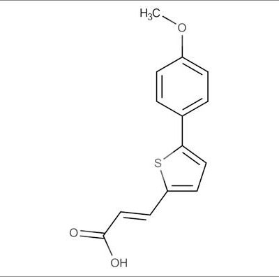 (E)-3-(5-(4-Methoxyphenyl)thiophen-2-yl)acrylic acid