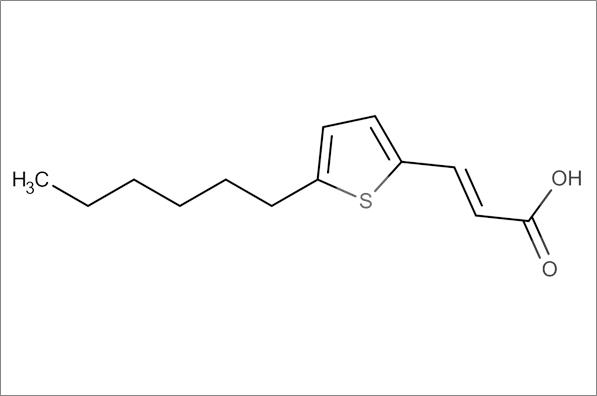 (E)-3-(5-Hexylthiophen-2-yl)acrylic acid