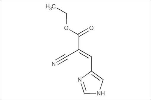 (E)-Ethyl 2-cyano-3-(1H-imidazol-4-yl)acrylate