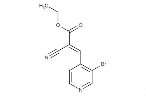 (E)-Ethyl 3-(3-bromopyridin-4-yl)-2-cyanoacrylate