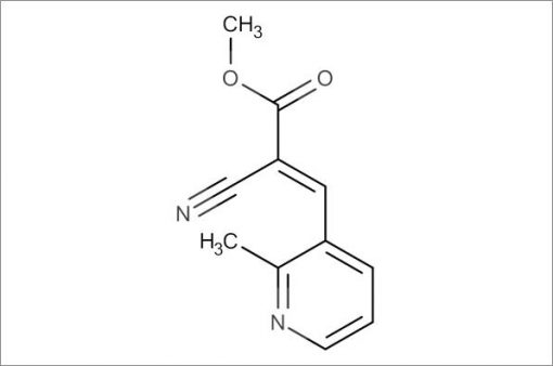 (E)-Methyl 2-cyano-3-(2-methylpyridin-3-yl)acrylate