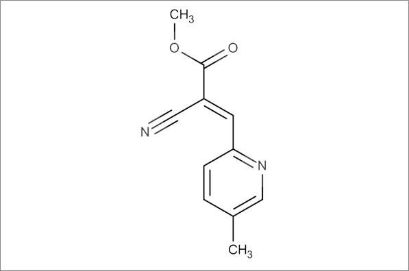 (E)-Methyl 2-cyano-3-(5-methylpyridin-2-yl)acrylate