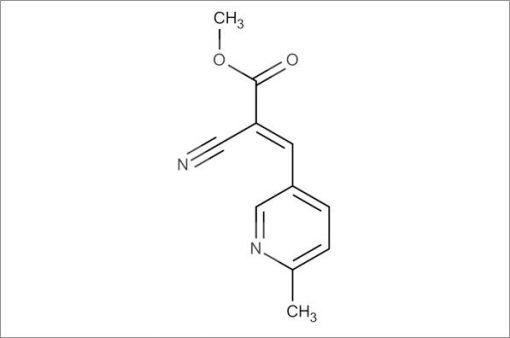 (E)-Methyl 2-cyano-3-(6-methylpyridin-3-yl)acrylate