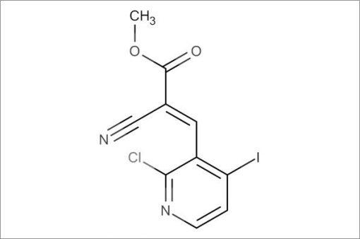 (E)-Methyl 3-(2-chloro-4-iodopyridin-3-yl)-2-cyanoacrylate