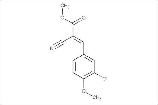 (E)-Methyl 3-(3-chloro-4-methoxyphenyl)-2-cyanoacrylate