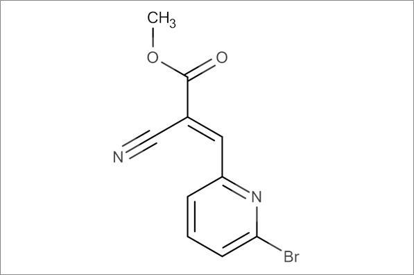 (E)-Methyl 3-(6-bromopyridin-2-yl)-2-cyanoacrylate
