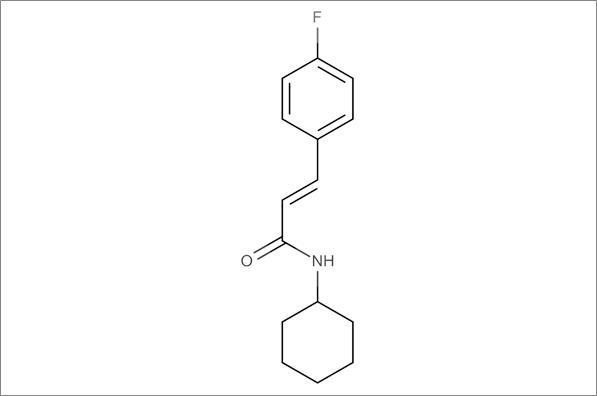 (E)-N-Cyclohexyl-3-(4-fluorophenyl)acrylamide