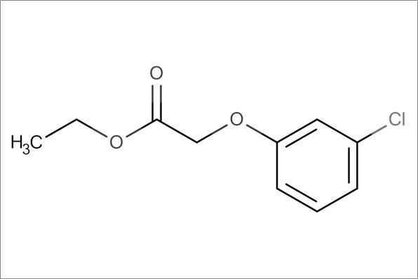 Ethyl 3-chlorophenyloxy acetate