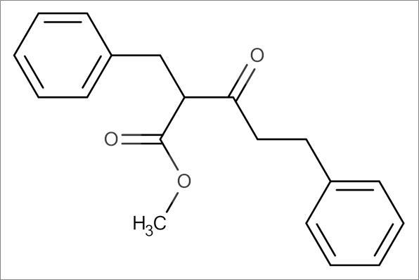 Methyl 2-benzyl-3-oxo-5-phenyl pentanoate