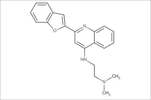 N'-(2-(Benzofuran-2-yl)quinolin-4-yl)-N,N-dimethylethane-1,2-diamine