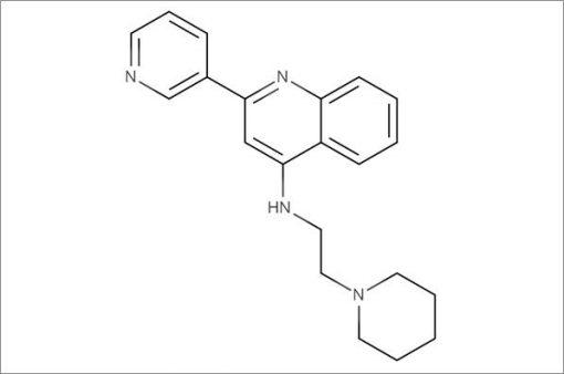 N-(2-(Piperidin-1-yl)ethyl)-2-(pyridin-3-yl)quinolin-4-amine