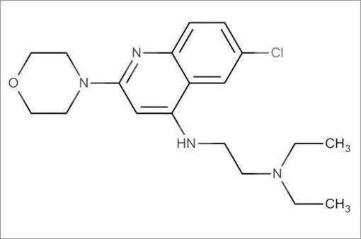 N'-(6-Chloro-2-morpholinoquinolin-4-yl)-N,N-diethylethane-1,2-diamine