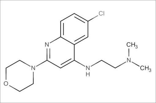 N'-(6-Chloro-2-morpholinoquinolin-4-yl)-N,N-dimethylethane-1,2-diamine