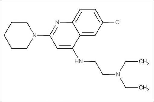 N'-(6-Chloro-2-(piperidin-1-yl)quinolin-4-yl)-N,N-diethylethane-1,2-diamine