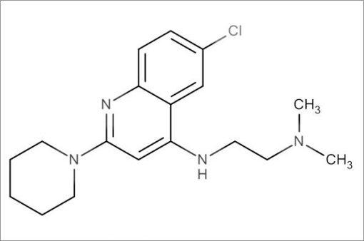 N'-(6-Chloro-2-(piperidin-1-yl)quinolin-4-yl)-N,N-dimethylethane-1,2-diamine