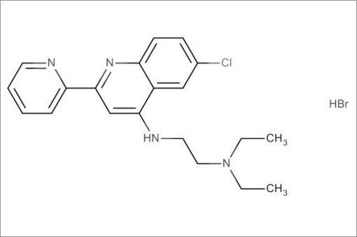 N'-(6-Chloro-2-(pyridin-2-yl)quinolin-4-yl)-N,N-diethylethane-1,2-diamine hydrobromide