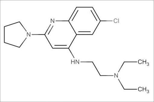 N'-(6-Chloro-2-(pyrrolidin-1-yl)quinolin-4-yl)-N,N-diethylethane-1,2-diamine