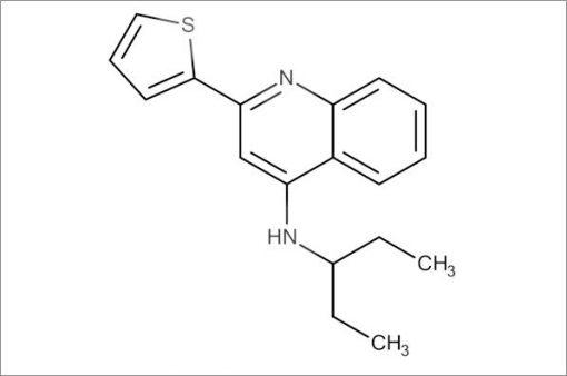 N-(Pentan-3-yl)-2-(thiophen-2-yl)quinolin-4-amine