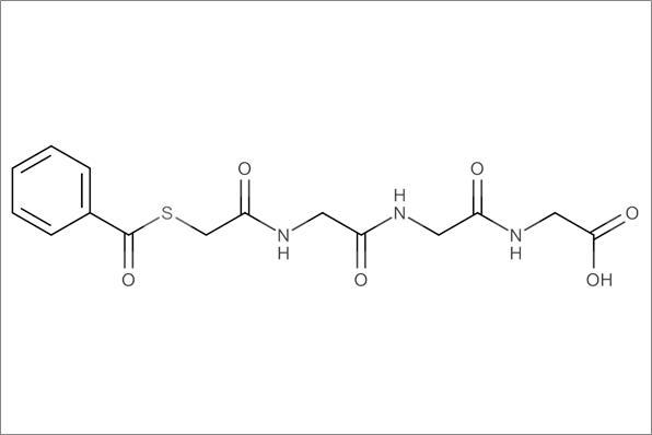 N-[(benzoylthio)-acetyl]glycylglycyl-glycine