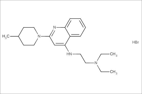 N',N'-Diethyl-N-(2-(4-methylpiperidin-1-yl)quinolin-4-yl)ethane-1,2-diamine hydrobromide