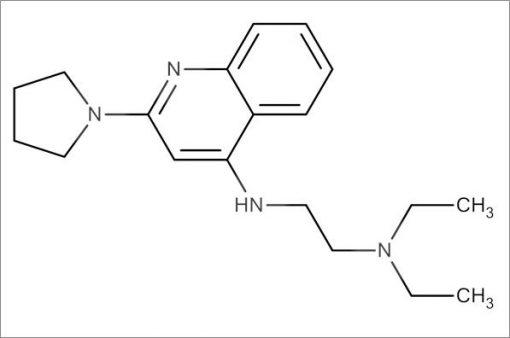 N',N'-Diethyl-N-(2-(pyrrolidin-1-yl)quinolin-4-yl)ethane-1,2-diamine