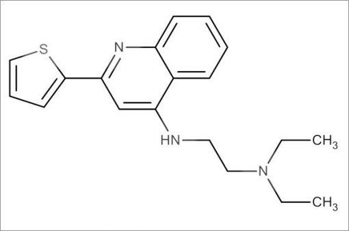 N',N'-Diethyl-N-(2-(thiophen-2-yl)quinolin-4-yl)ethane-1,2-diamine