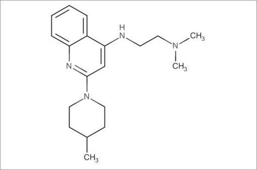 N',N'-Dimethyl-N-(2-(4-methylpiperidin-1-yl)quinolin-4-yl)ethane-1,2-diamine