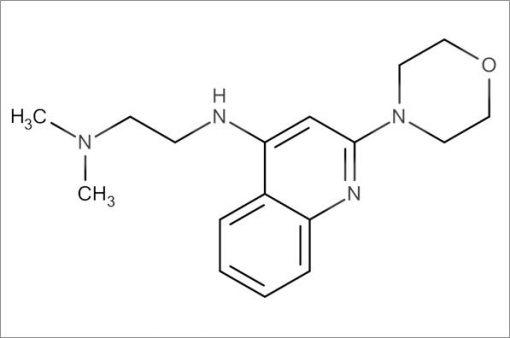 N',N'-Dimethyl-N-(2-morpholinoquinolin-4-yl)ethane-1,2-diamine