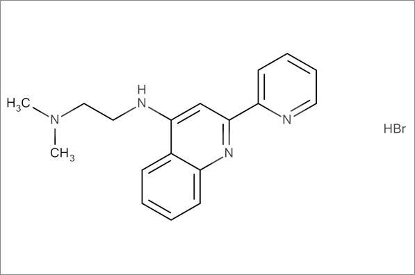 N',N'-Dimethyl-N-(2-(pyridin-2-yl)quinolin-4-yl)ethane-1,2-diamine hydrobromide