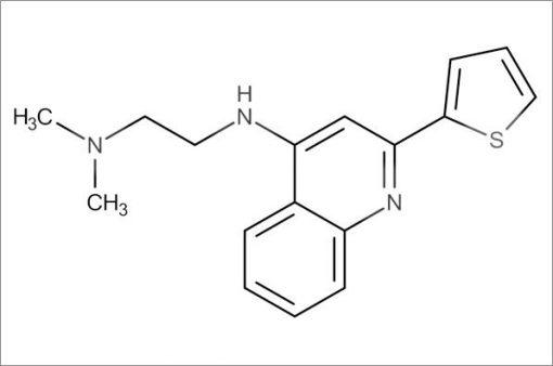 N',N'-Dimethyl-N-(2-(thiophen-2-yl)quinolin-4-yl)ethane-1,2-diamine