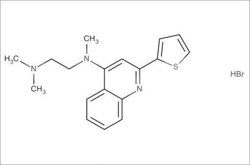 N',N',N-Trimethyl-N-(2-(thiophen-2-yl)quinolin-4-yl)ethane-1,2-diamine hydrobromide