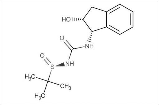 (R)-N-(((1S,2R)-2-Hydroxy-2,3-dihydro-1H-inden-1-yl)carbamoyl)-2-methylpropane-2-sulfinamide