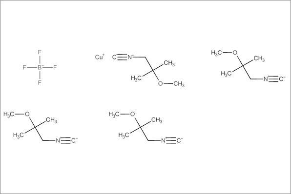 Tetrakis (2-methoxyisobutylisonitrile) copper (I) tetrafluoroborate