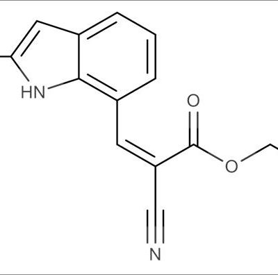 (Z)-Ethyl 2-cyano-3-(2-methyl-1H-indol-7-yl)acrylate