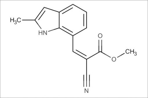 (Z)-Methyl 2-cyano-3-(2-methyl-1H-indol-7-yl)acrylate