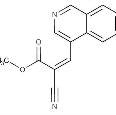 (Z)-Methyl 2-cyano-3-(isoquinolin-4-yl)acrylate