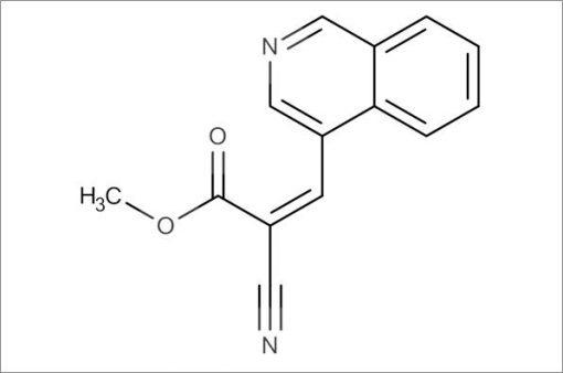 (Z)-Methyl 2-cyano-3-(isoquinolin-4-yl)acrylate