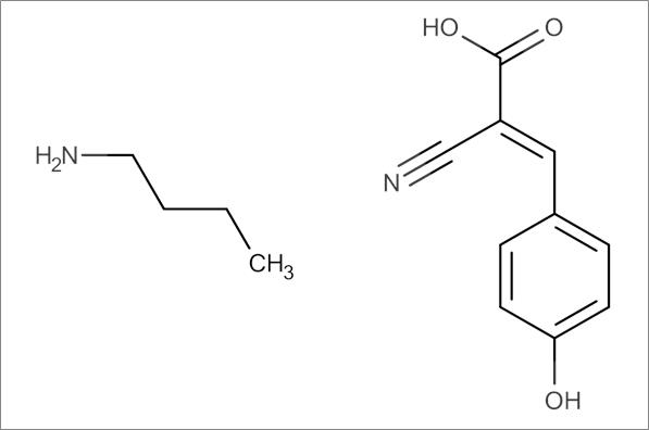 alpha-Cyano-4-hydroxycinnamic acid butylamine salt